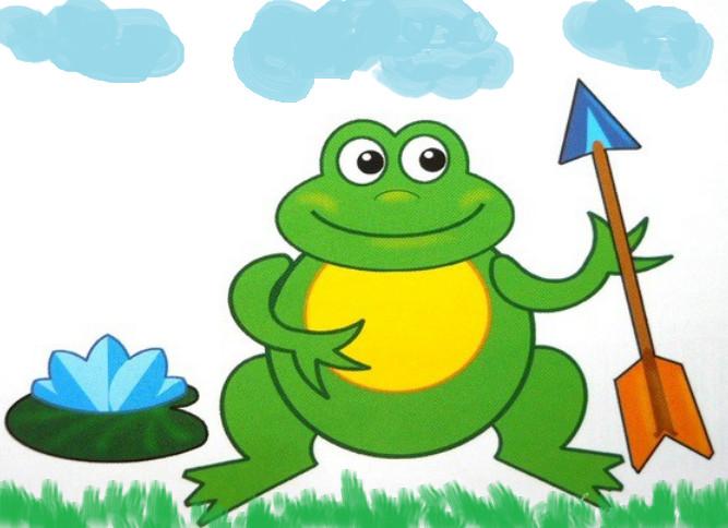 фото лягушка для детей