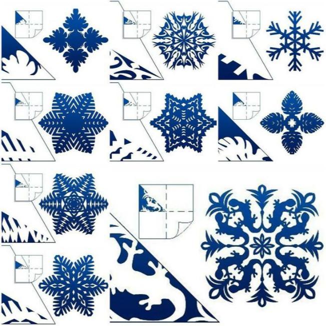 Diy paper snowflakes templates 1530564 - detektiv007.info